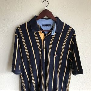Retro Tommy Hilfiger striped polo